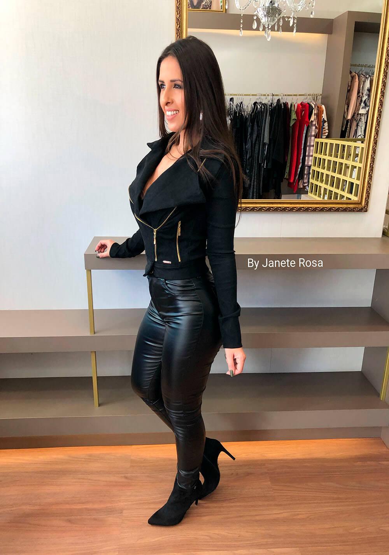 JAQUETA PURPURINA SUEDE